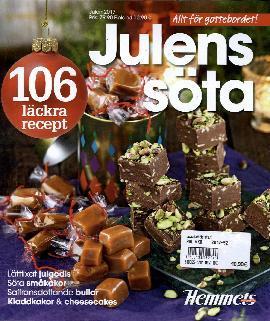 Hemmets Veckotidning Special Bookazine Julens Söta 106 läckra recept