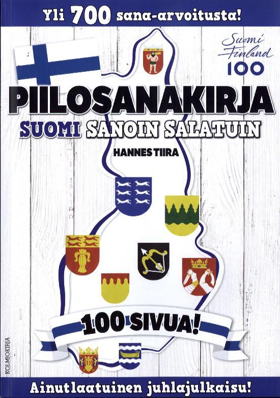 Piilosanakirja Suomi sanoin salatuin 1 2017