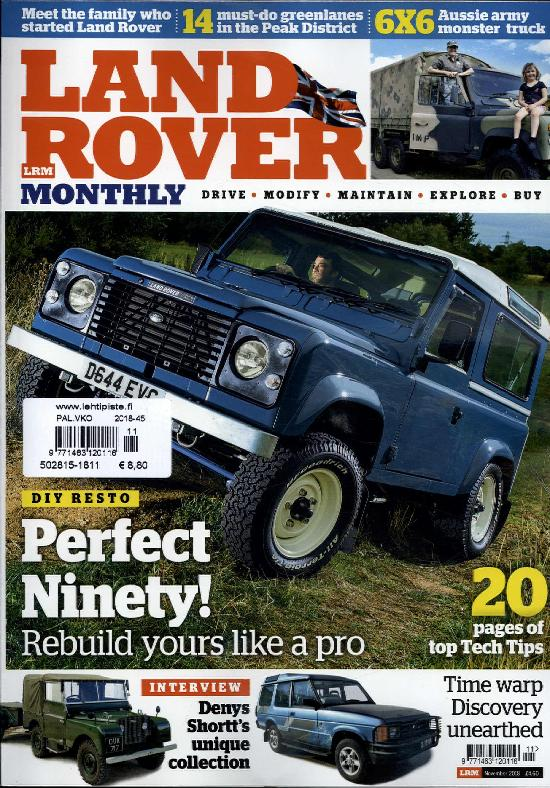 Landrover Monthly