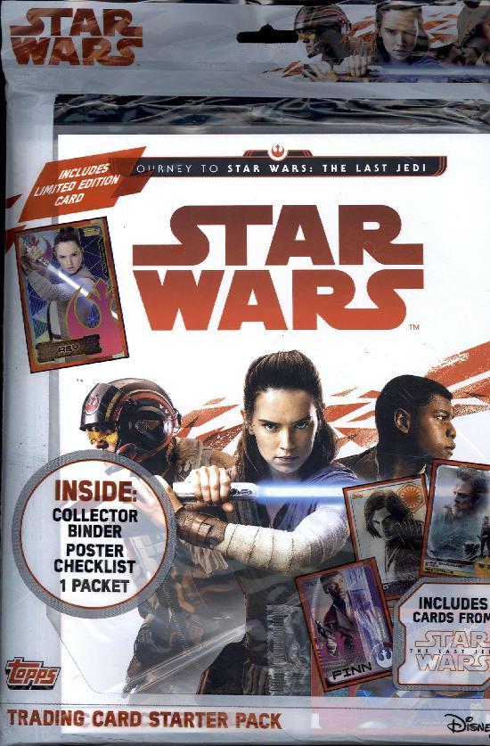 Star Wars The Last Jedi -aloituspakkaus (kortit) 1701