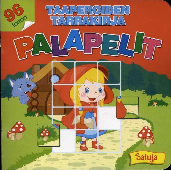 Taaperoiden tarrakirja PALAPELIT 2/2018