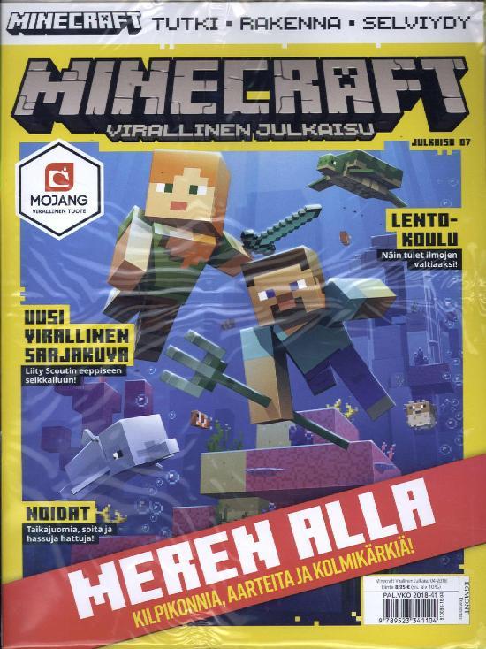 Minecraft virallinen julkaisu 4/2018