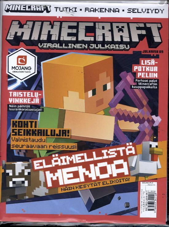 Minecraft virallinen julkaisu 6/2018