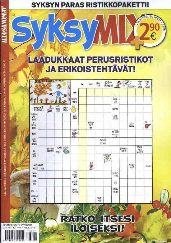 Ilta-Sanomat Oheistuote SyksyMIX
