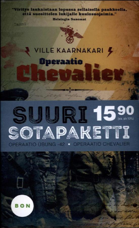 Kaarnakari, Ville: Operaatio Chevalier & Operaatio Übung -42 (Tuplapaketti)