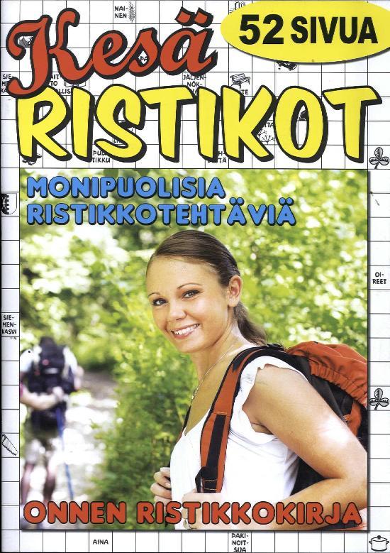 Onnen Ristikkokirja 3/2018 Kesä Ristikot