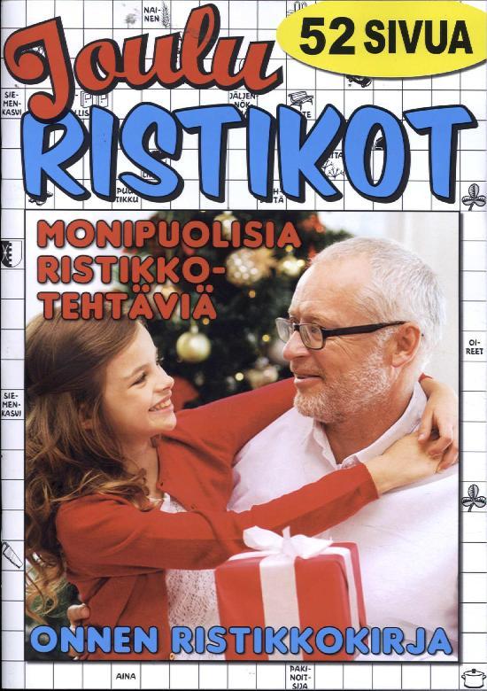 Onnen Ristikkokirja Jouluristikot 6/2018