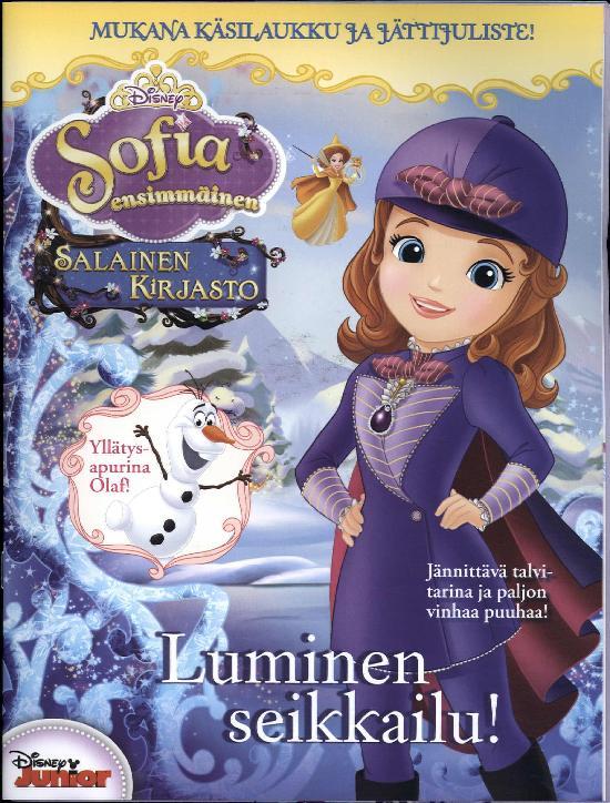 Prinsessa Erikoisnumero Sofia Ensimmäinen Salainen kirjasto 1 2018