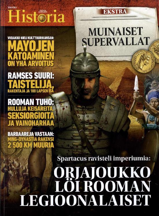 Tieteen Kuvalehti Historia Extra Muinaiset supervallat
