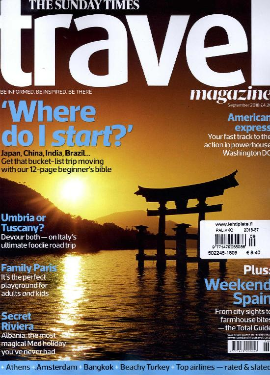Travel (The Sunday Times)