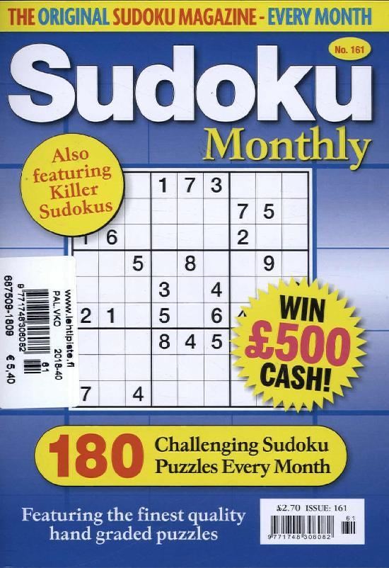 Sudoku Monthly