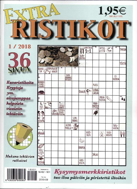 Extra Ristikot 1 / 2018