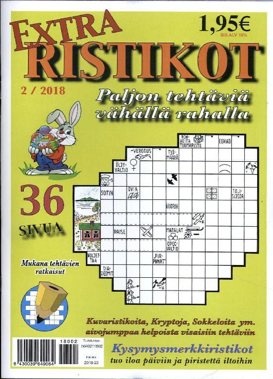 Extra Ristikot 2 / 2018