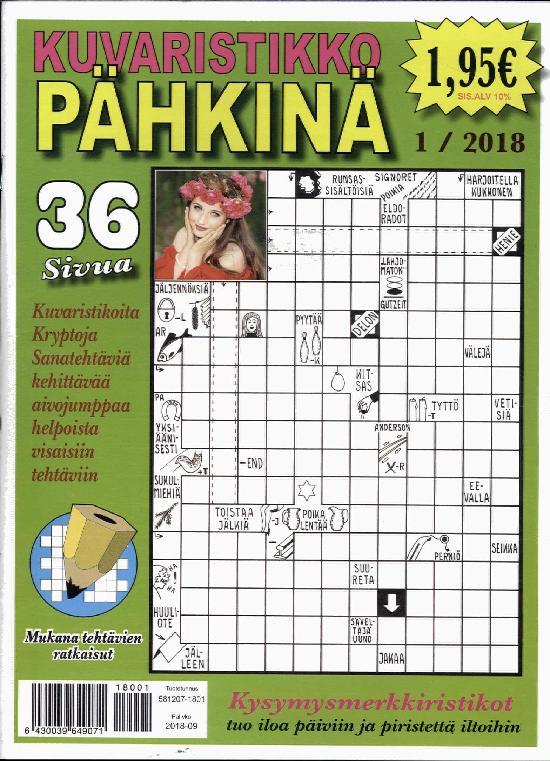 Kuvaristikko Pähkinä 1 / 2018