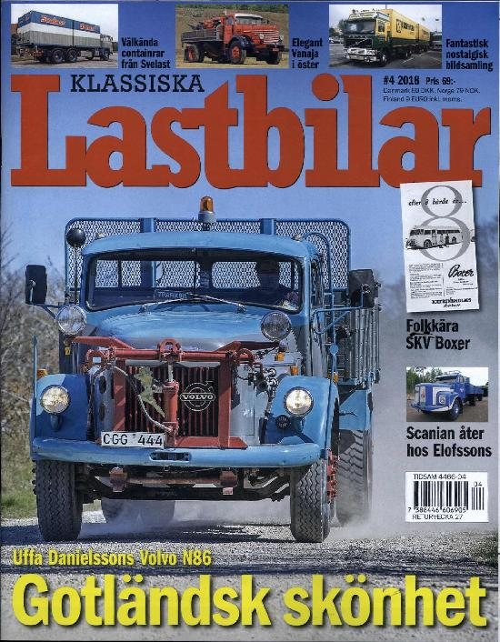 Klassiska Lastbilar
