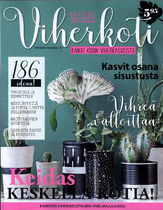 Viherkoti 1 2018 kaikki kodin kasveista