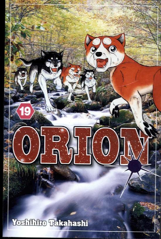 Orion -Sarjakuvakirja Osa: 19/30 2018