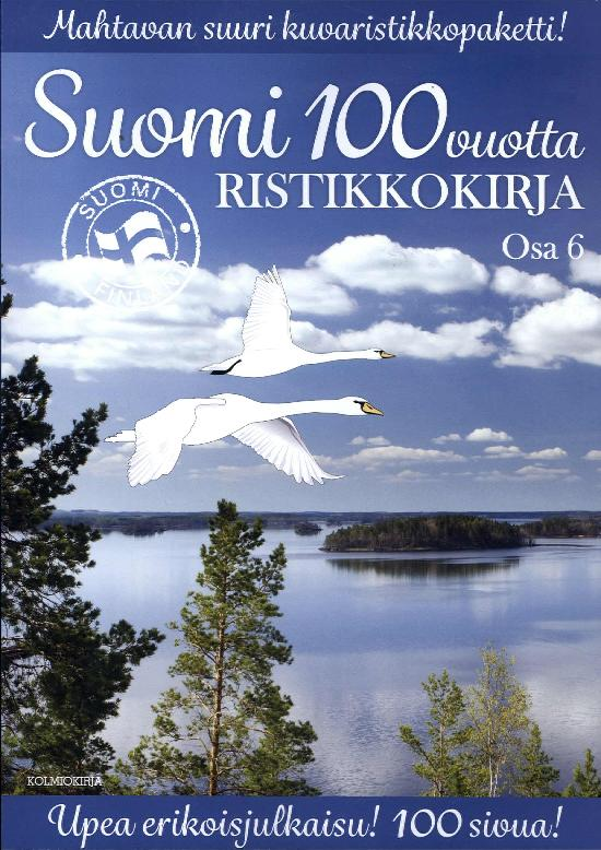 Suomi 100 Vuotta Ristikkokirja Osa 6 2018