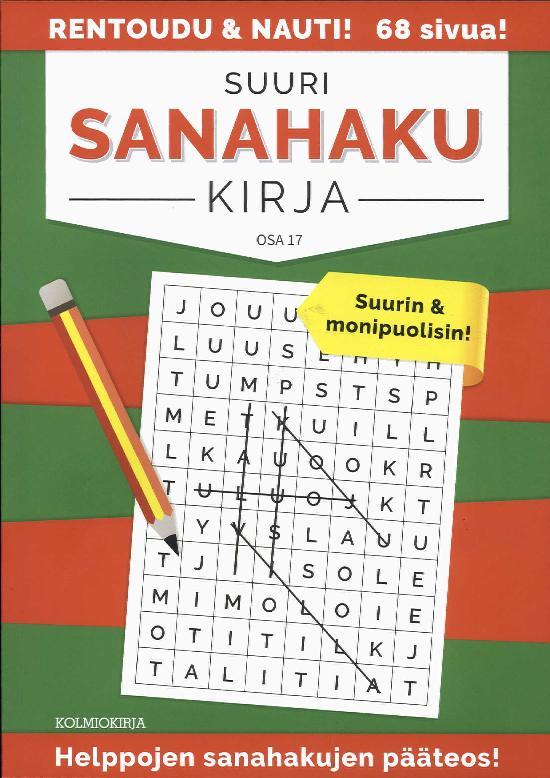 Suuri Sanahakukirja OSA 17 2018
