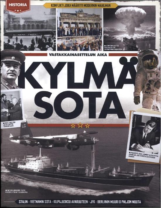 Historia Bookazine Kylmä sota