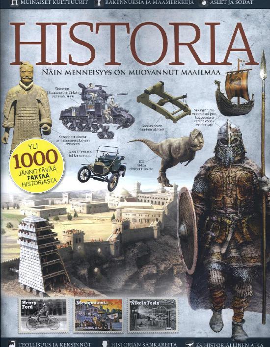 Historia Bookazine Näin menneisyys on muovannut maailmaa
