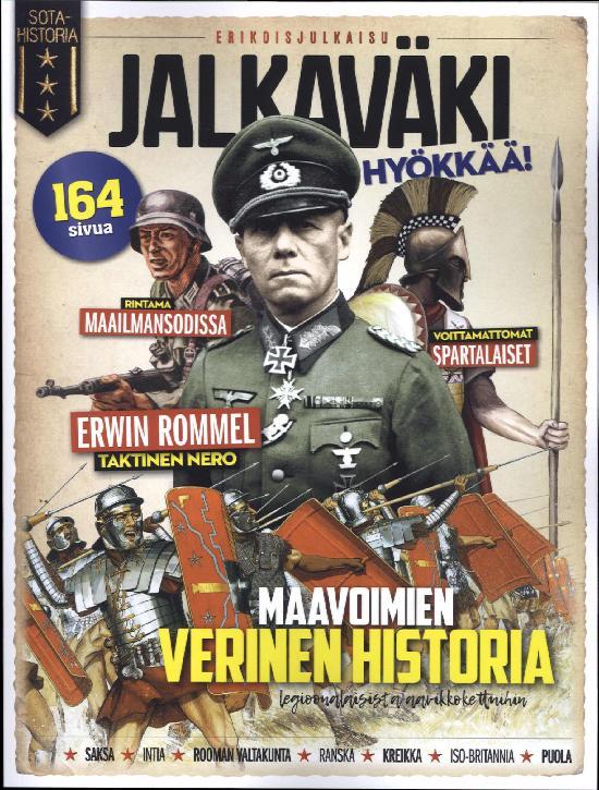 Sotahistoria Bookazine Erikoisjulkaisu Jalkaväki hyökkää!