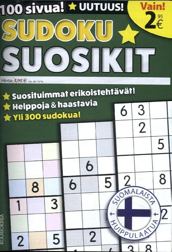 Sudoku Suosikit 1/2018