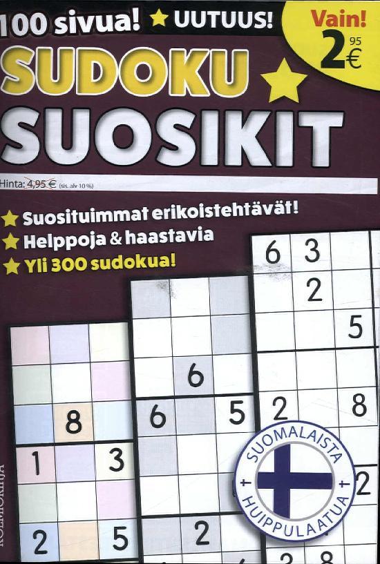 Sudoku Suosikit 6/2018