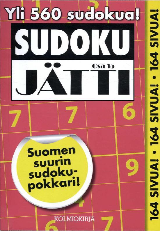 Sudoku-Jätti Osa 15 3/2018