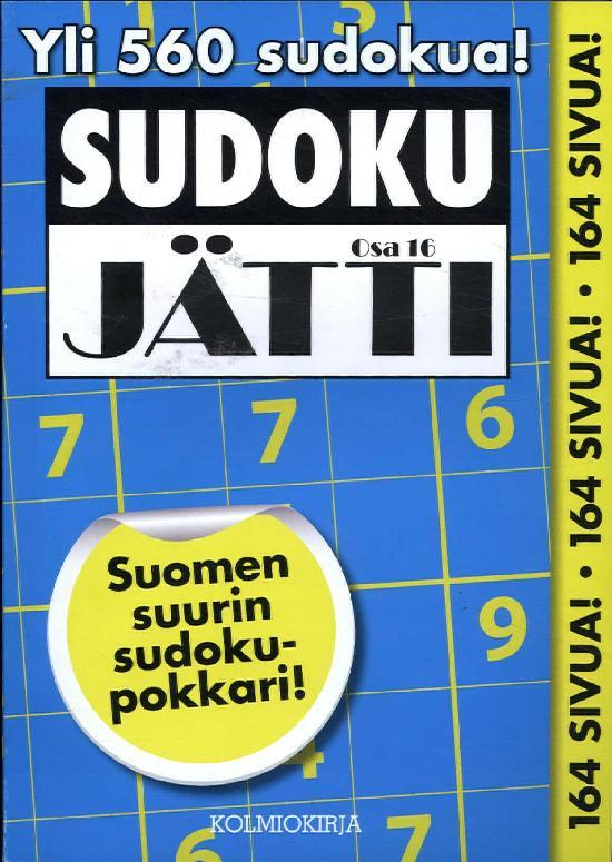 Sudoku-Jätti Osa 16 4/2018