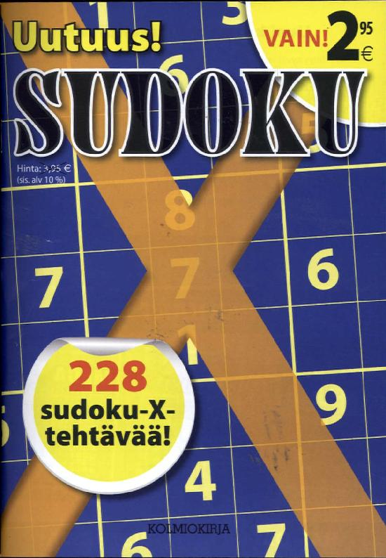 Sudoku X 1801