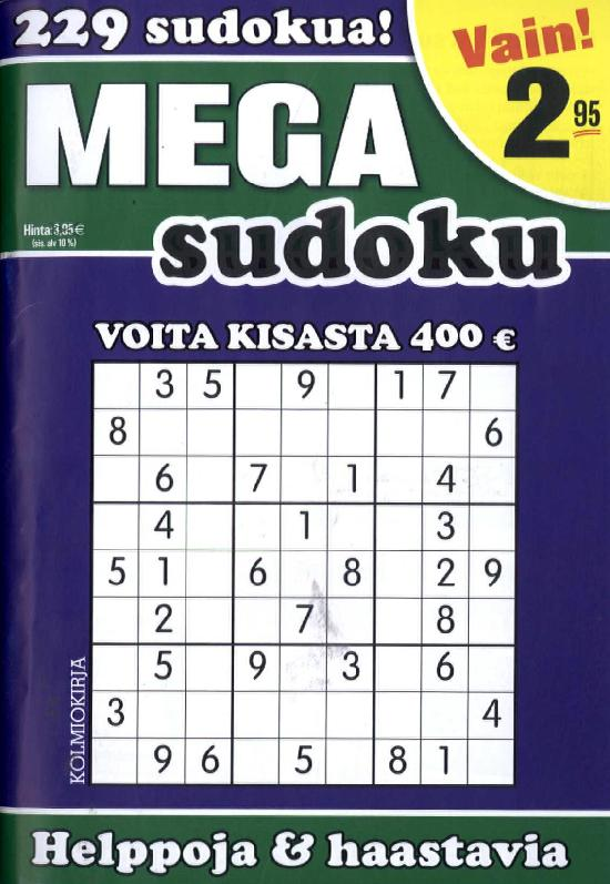Mega-Sudoku 2/2018