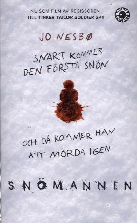 Nesbö, Jo: Snömannen (filmomslag)