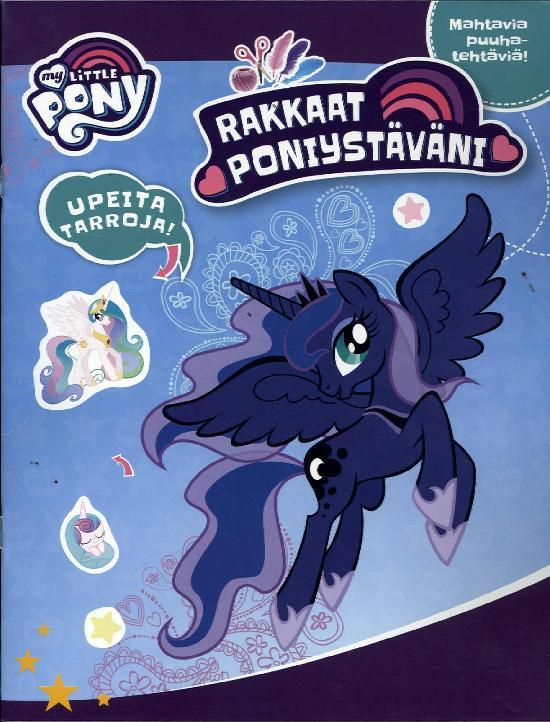 Tarrakirja (Egmont) My Little Pony RAKKAAT PONIYSTÄVÄNI