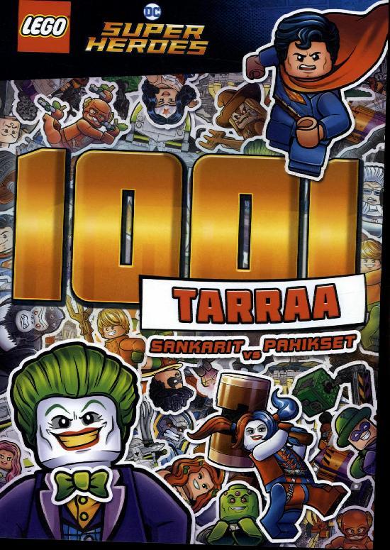 Tarrakirja (Egmont) Lego DC Comic Super Heroes 1001 tarraa
