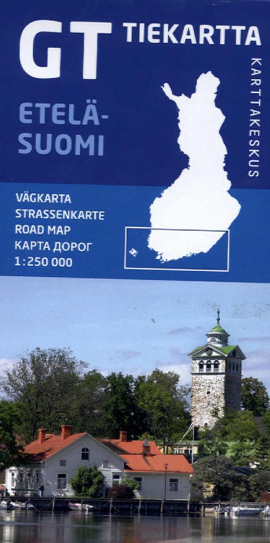 GT Tiekartta Etelä-Suomi