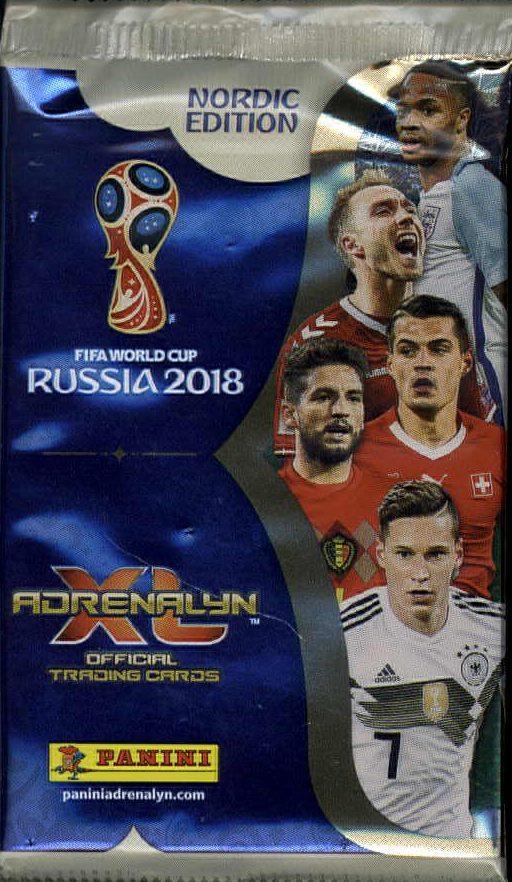 World Cup 2018 Adrenalyn XL -jalkapallokortit 1/2018