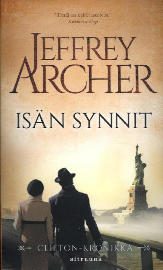 Archer, Jeffrey: Isän synnit