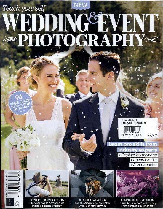 Photography Masterclass Bookazine Teach yourself Wedding & Event Photography 2018