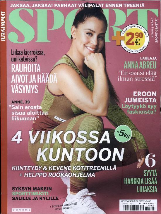 Ilta-Sanomat Teemalehti Sport 9/2018