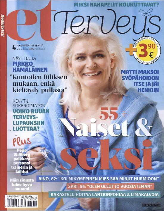 Ilta-Sanomat Teema Extra ET Terveys 4/2018