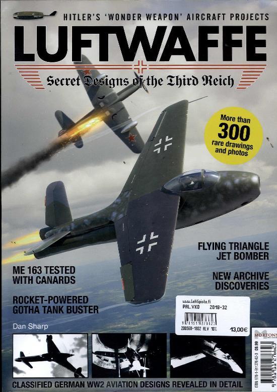 History Bookazines (Morton) Luftwaffe: Secret Designs of a Third Reich 2018