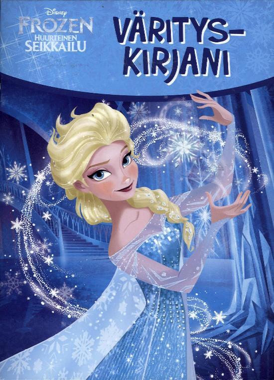 Walt Disney Puuhakirja Frozen Värityskirjani