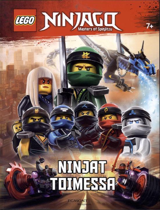 Tarrakirja (Egmont) Lego Ninjago puuhakirja Ninjat toimessa