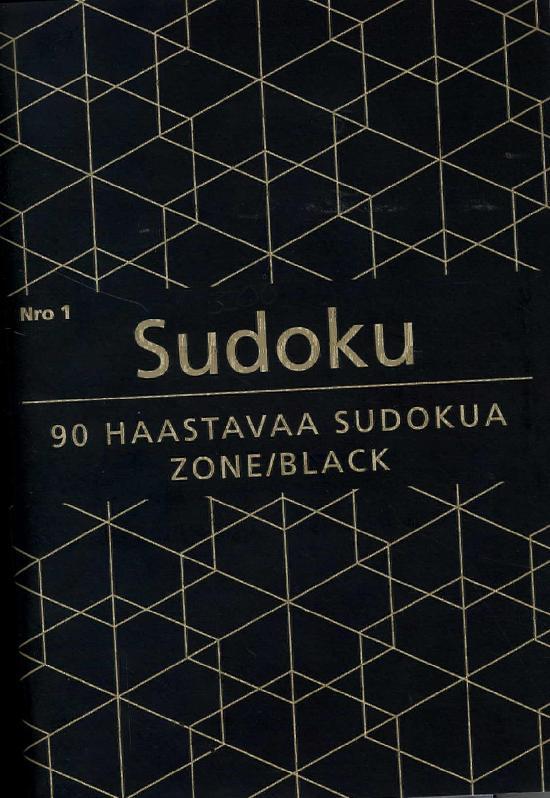 Sudoku Zone Black Nro 1 2018