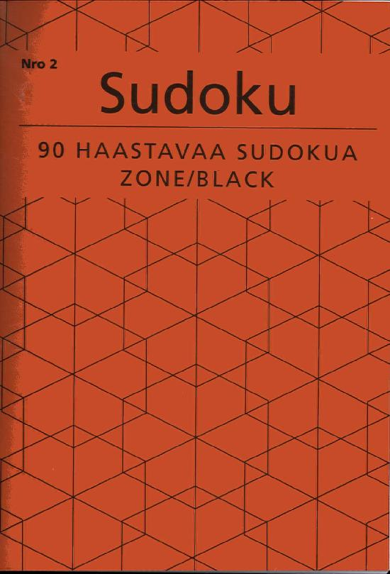 Sudoku Zone Black Nro 2 2018