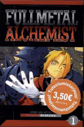 Fullmetal Alchemist -Sarjakuvakirja 1 2018