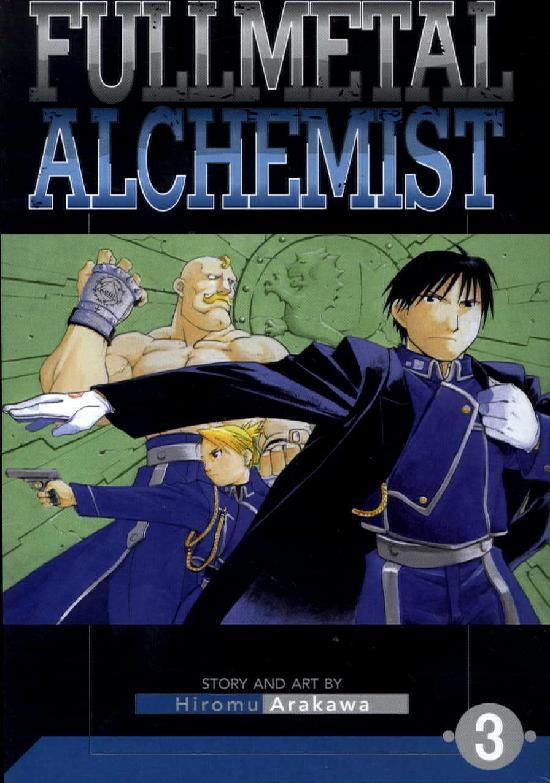 Fullmetal Alchemist -Sarjakuvakirja 3 2018