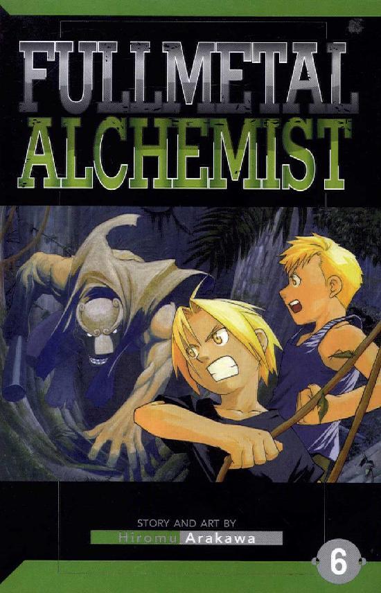 Fullmetal Alchemist -Sarjakuvakirja 6 2018