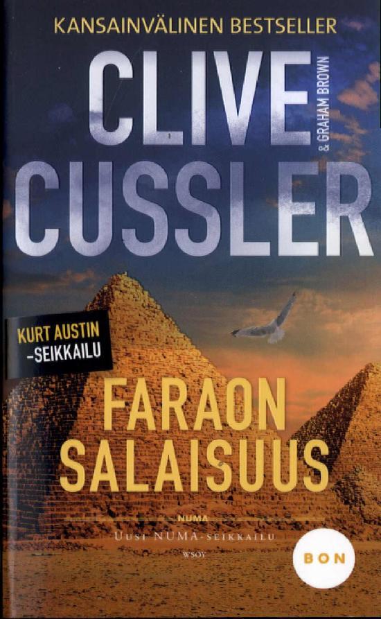 Brown, Graham & Cussler, Clive: Faraon salaisuus